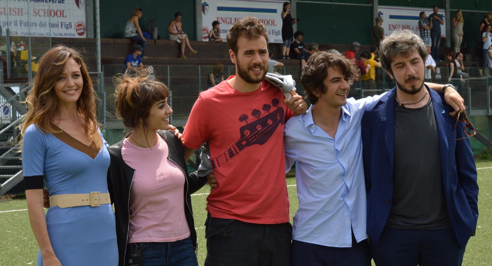 I babysitter: Francesca Cavallin, Simona Tabasco, Andrea Pisani, Francesco Mandelli, Paolo Ruffini.