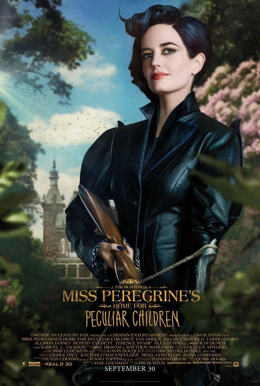 La casa per bambini speciali di Miss Peregrine: il character poster di Eva Green