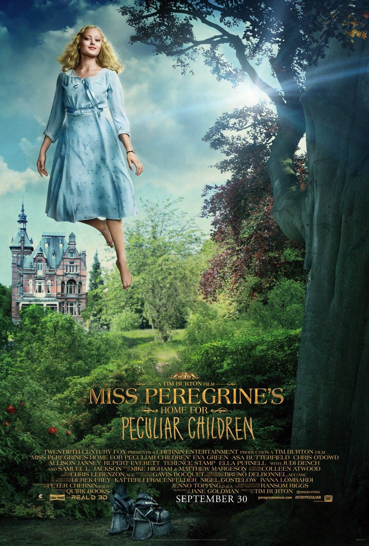 La casa per bambini speciali di Miss Peregrine: uno dei character poster del film di Tim Burton
