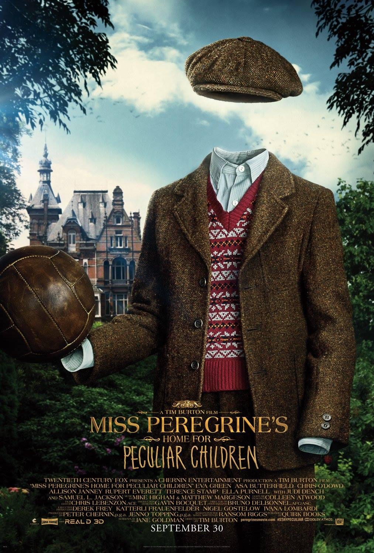La casa per bambini speciali di Miss Peregrine: una delle locandine dei film