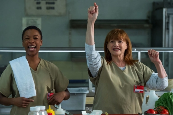 Orange is the New Black: le attrici Blair Brown e Samira Wiley