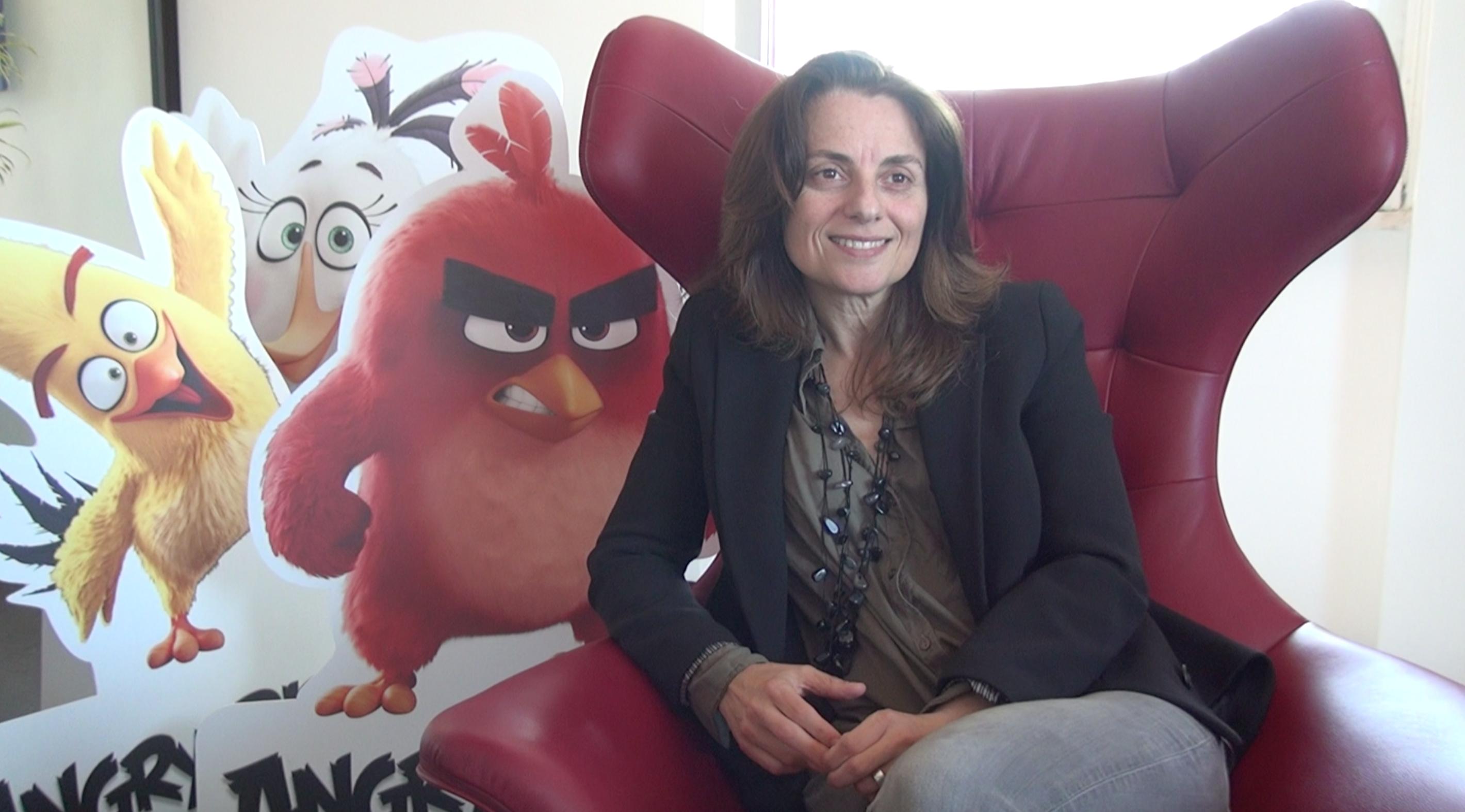 Angry Birds - Il film: La Character Art Director italiana Francesca Natale