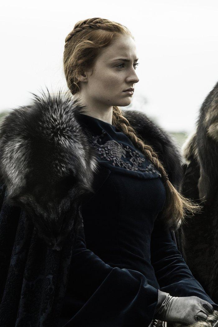 Il Trono di Spade: Sophie Turner è Sansa in Battle of the Bastards