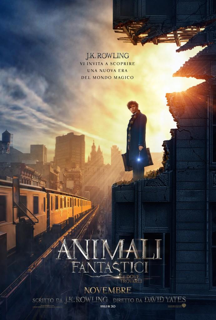 Animali fantastici e dove trovarli: una nuova locandina del film