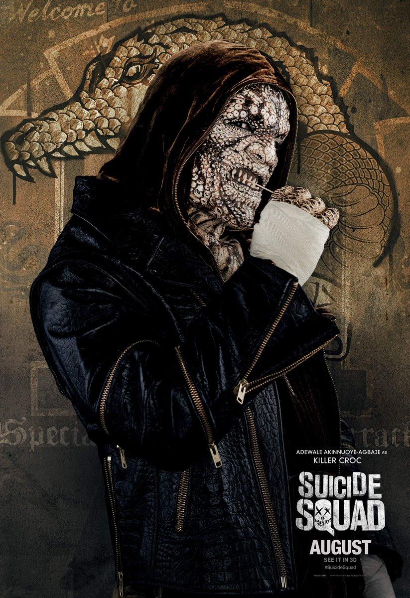 Suicide Squad: il character poster di Killer Croc