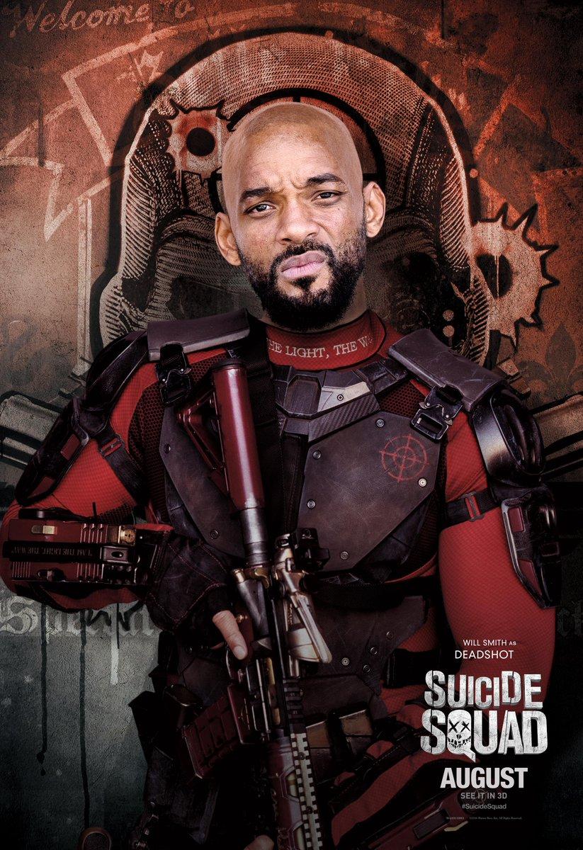 Suicide Squad: il character poster di Will Smith