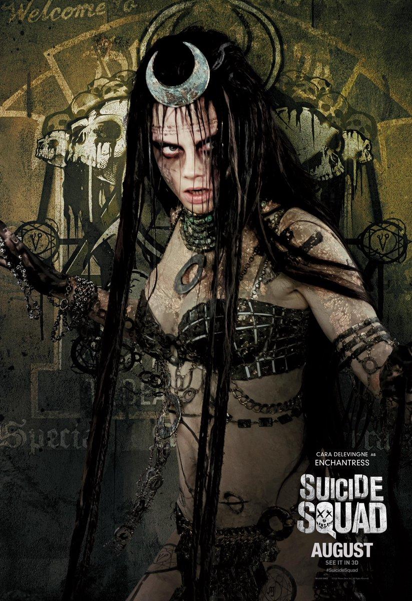 Suicide Squad: il character poster di Cara Delevingne
