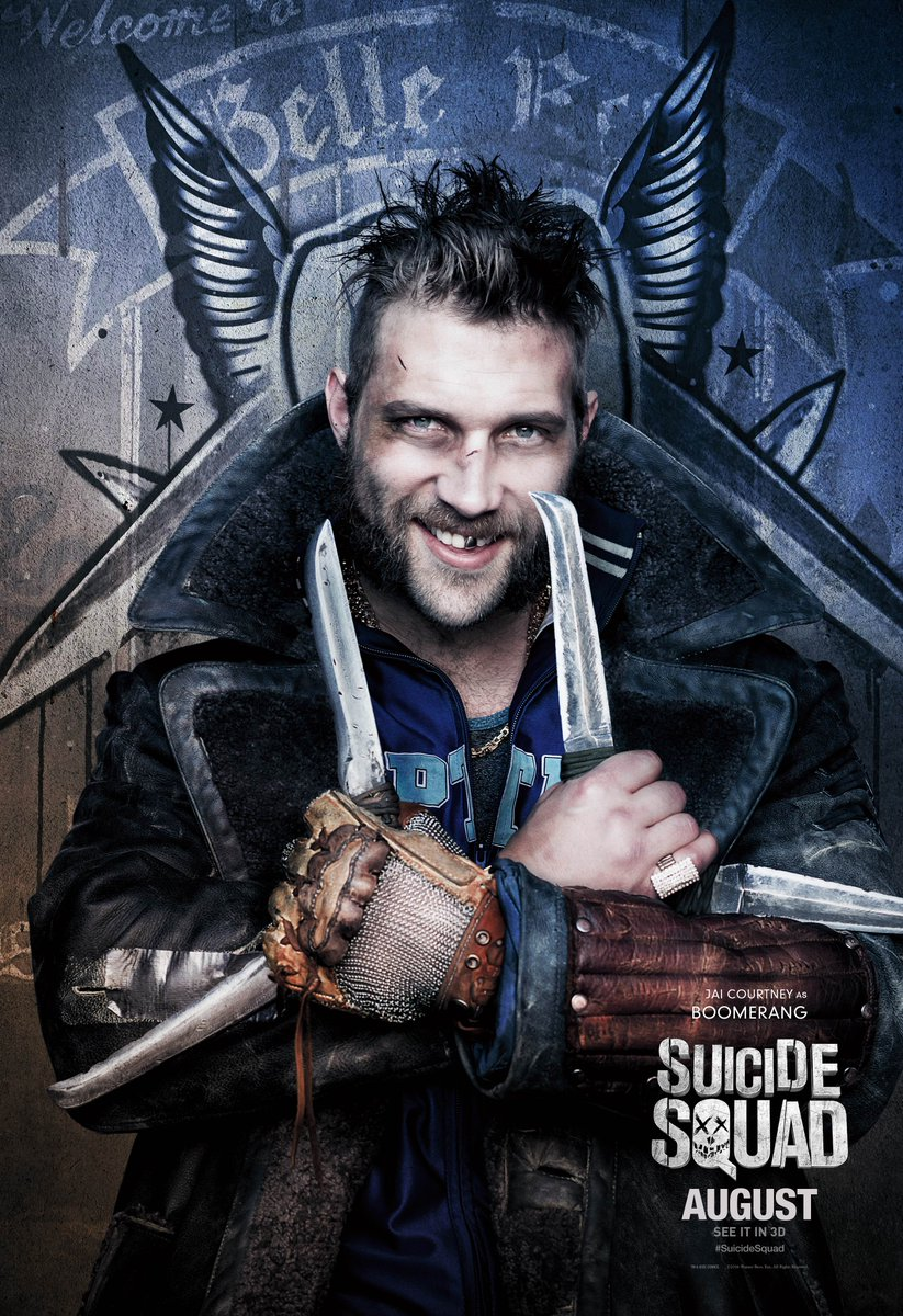 Suicide Squad: il character poster di Jai Courtney