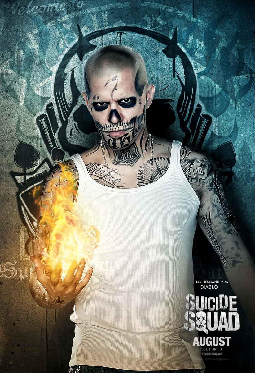 Suicide Squad: il character poster di Jay Hernandez