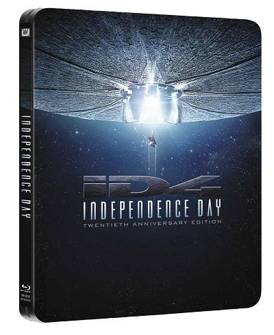 la steelbook di Independence Day - 20° anniversario