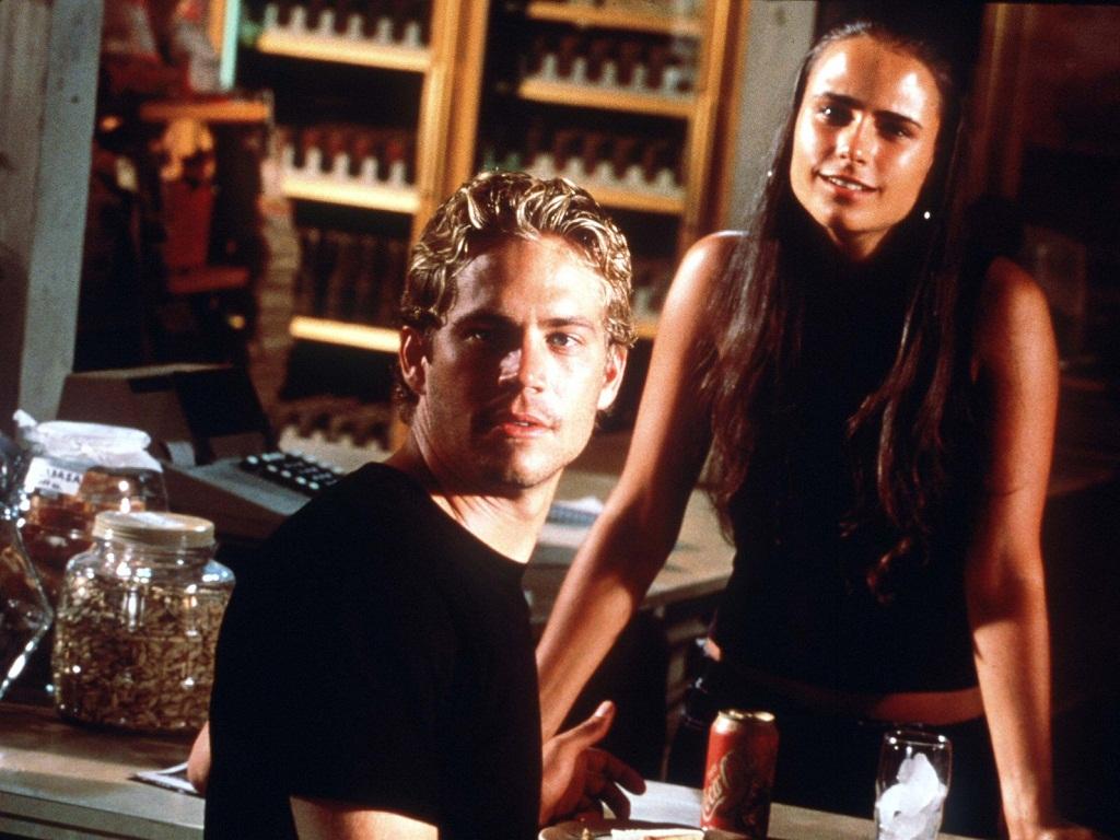 The Fast and the Furious:  Paul Walker in una scena del film di Rob Cohen
