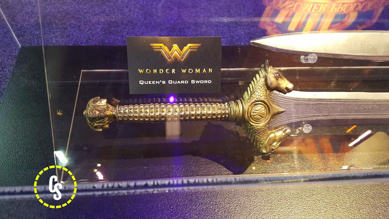 Wonder Woman: un dettaglio delle armi