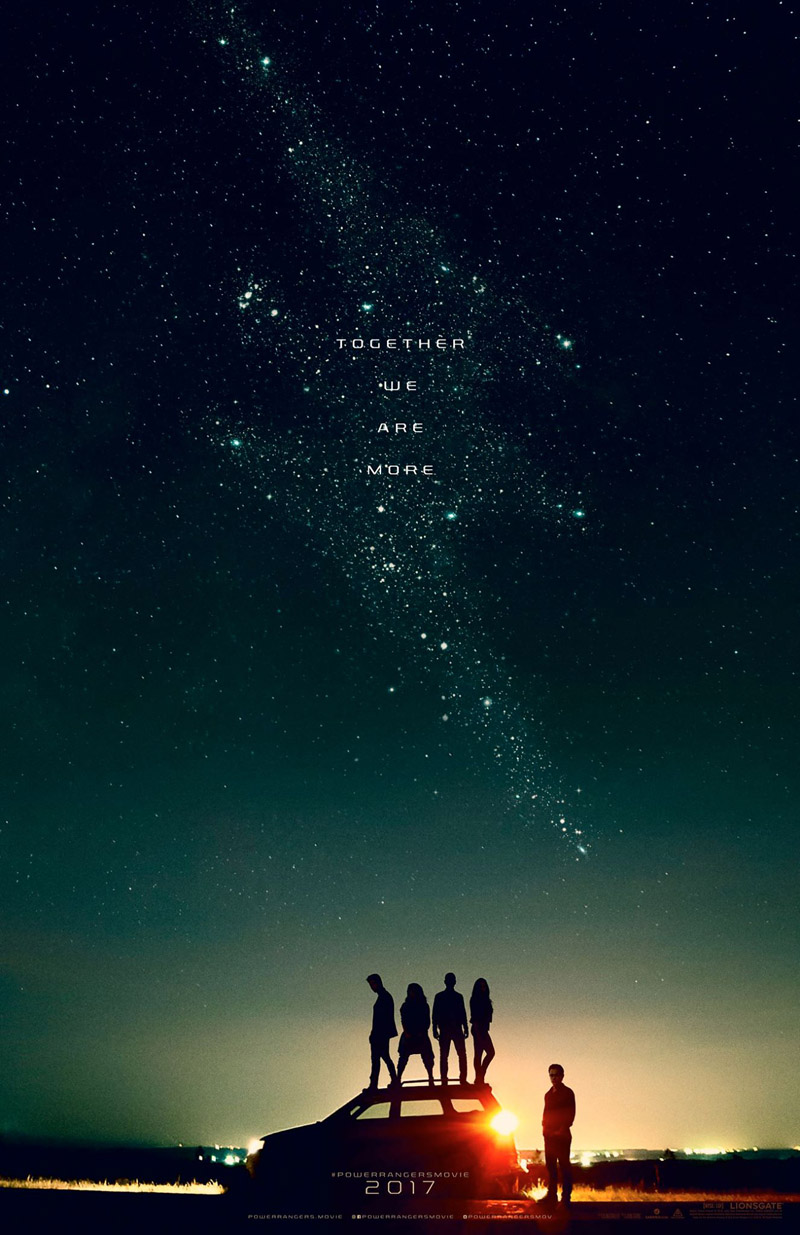 Power Rangers: un poster del film