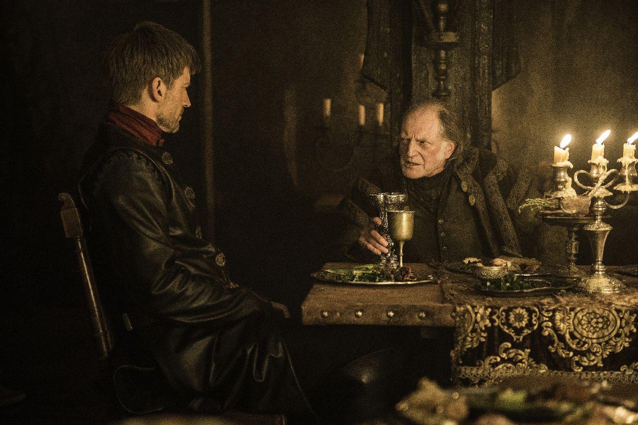 Il Trono di Spade: Jaime Lannister e Walder Frey in The Winds of Winter