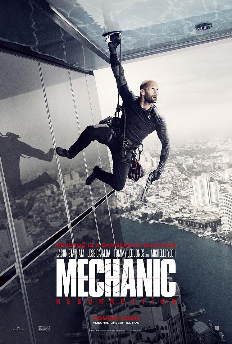 Mechanic: Resurrection - La nuova locandina del film