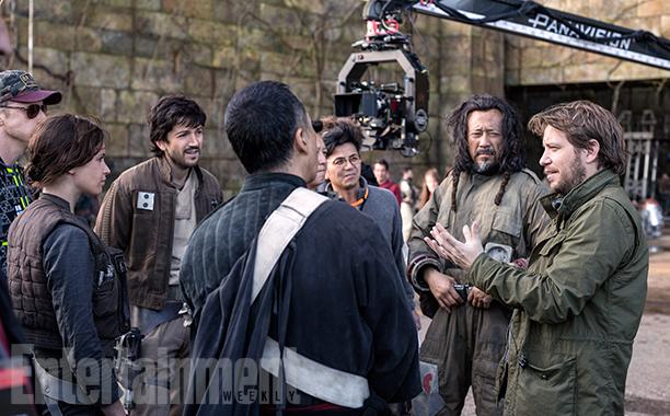 Rogue One: una foto delle riprese