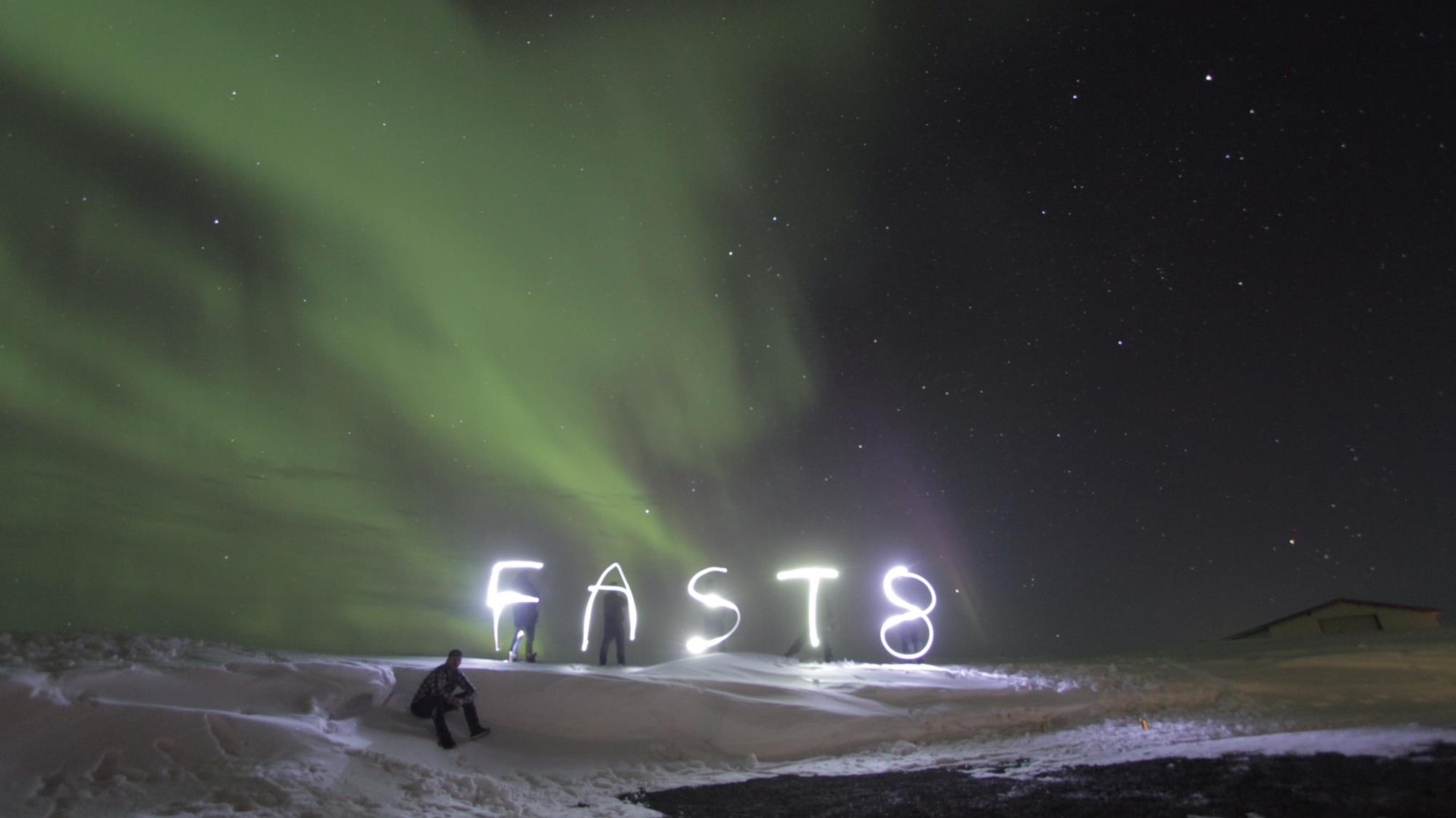 Fast 8: una foto scattata sul set