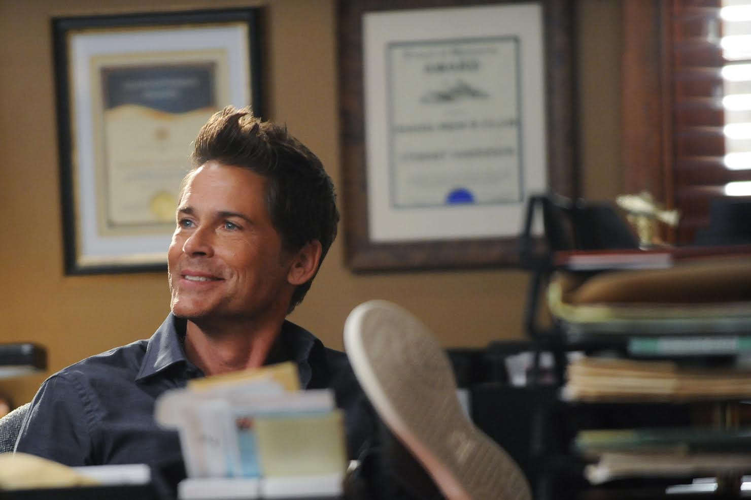 The Grinder: il protagonista Rob Lowe