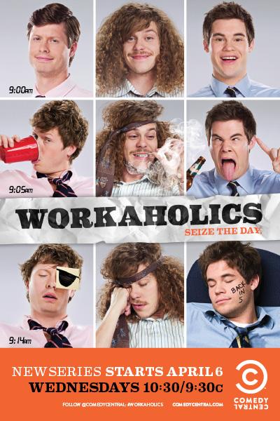 Workaholics: un poster per la serie