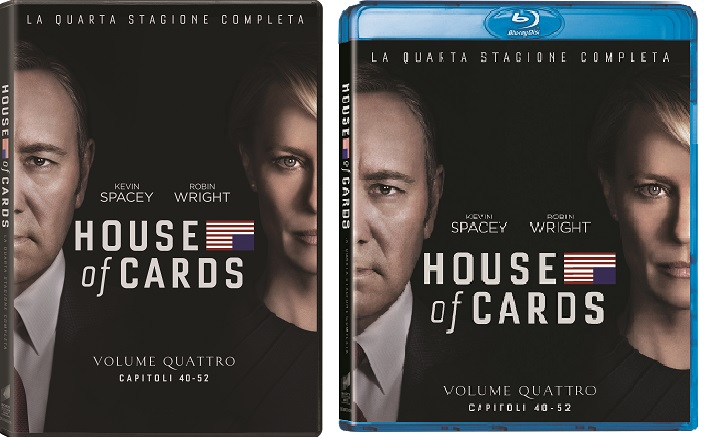 le cover homevideo di House of Cards - Stagione 4