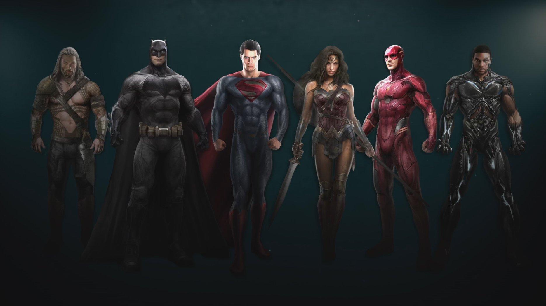 Justice League: un concept art del film