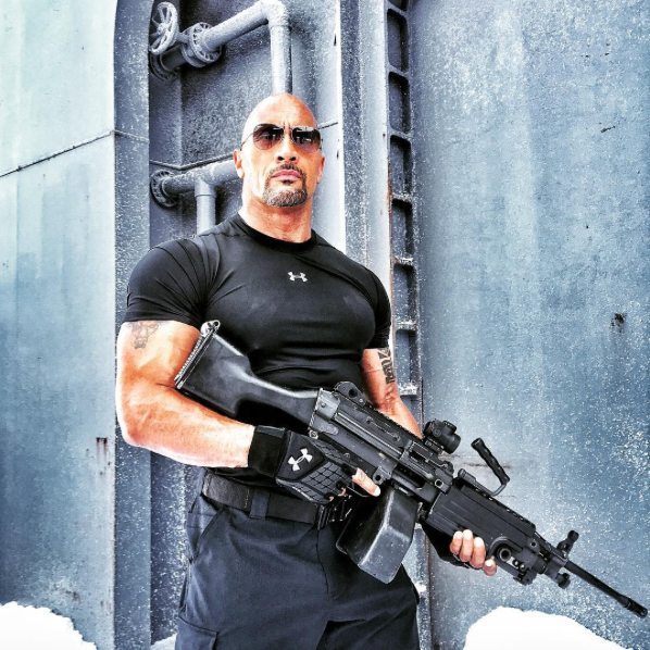 Fast 8: Dwayne Johnson in una foto scattata in Islanda