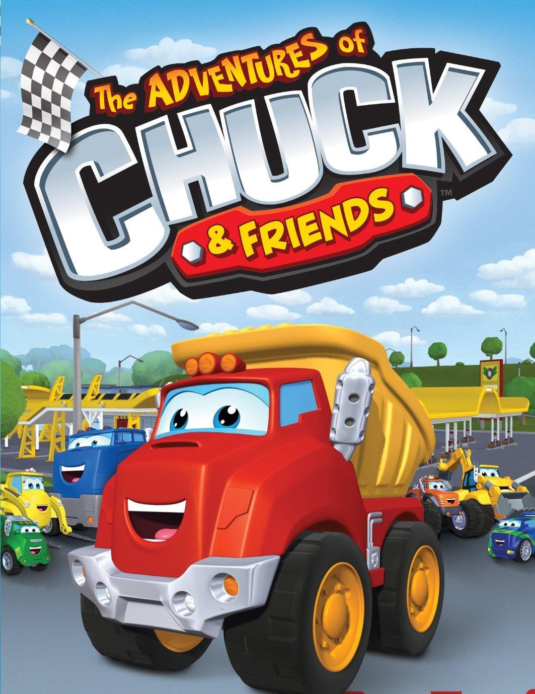 Le avventure di Chuck & Friends: un poster per la serie