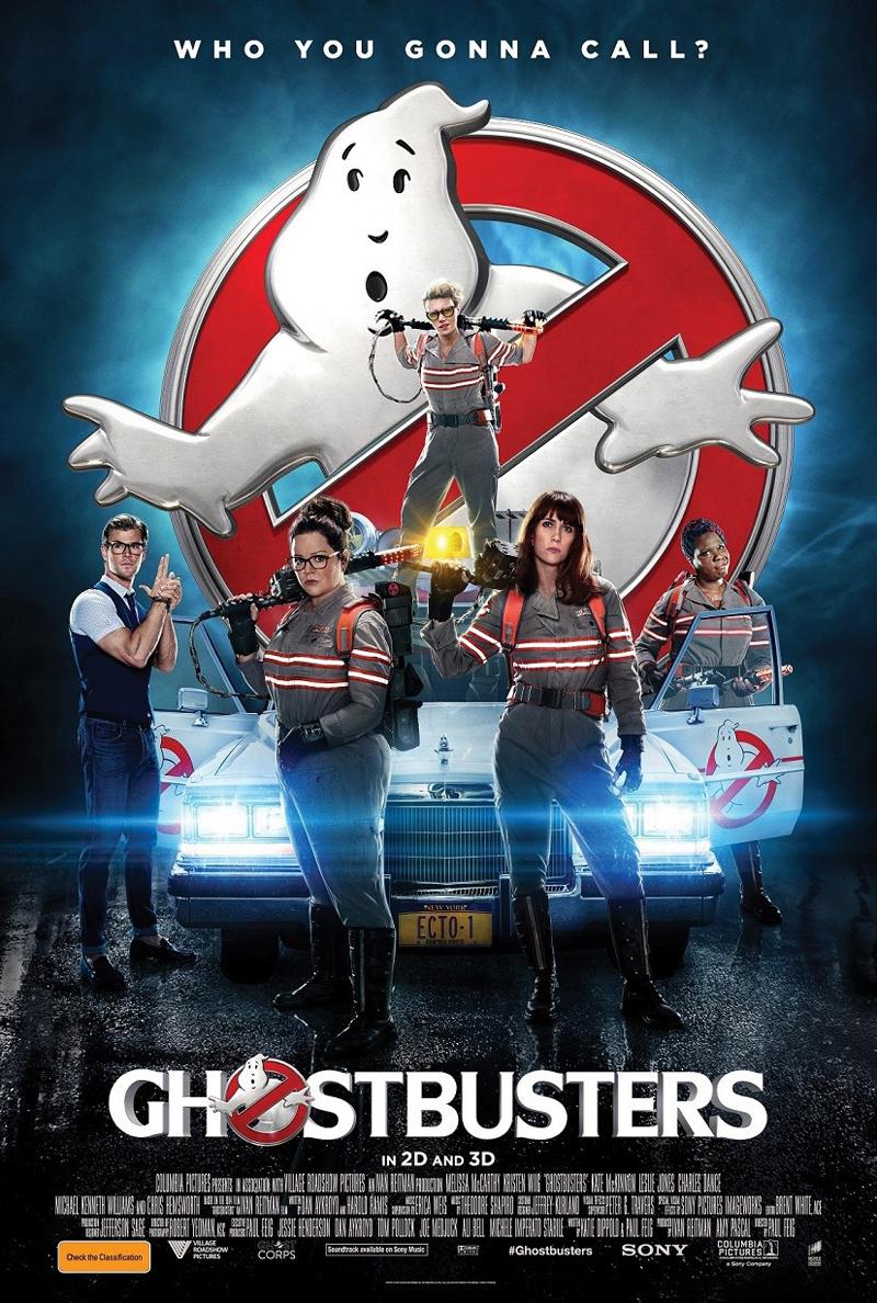 Ghostbusters: un poster del film