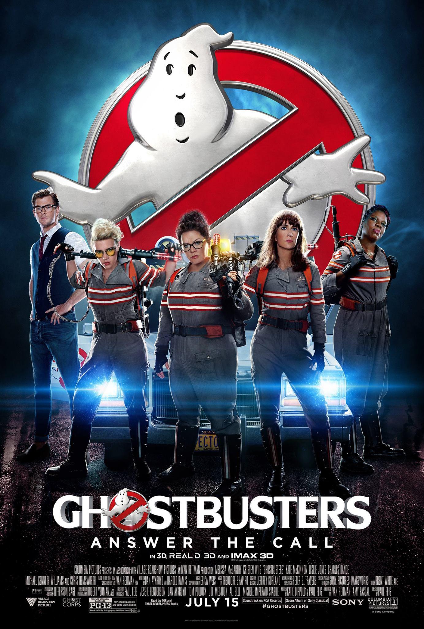Ghostbusters: una nuova locandina del film
