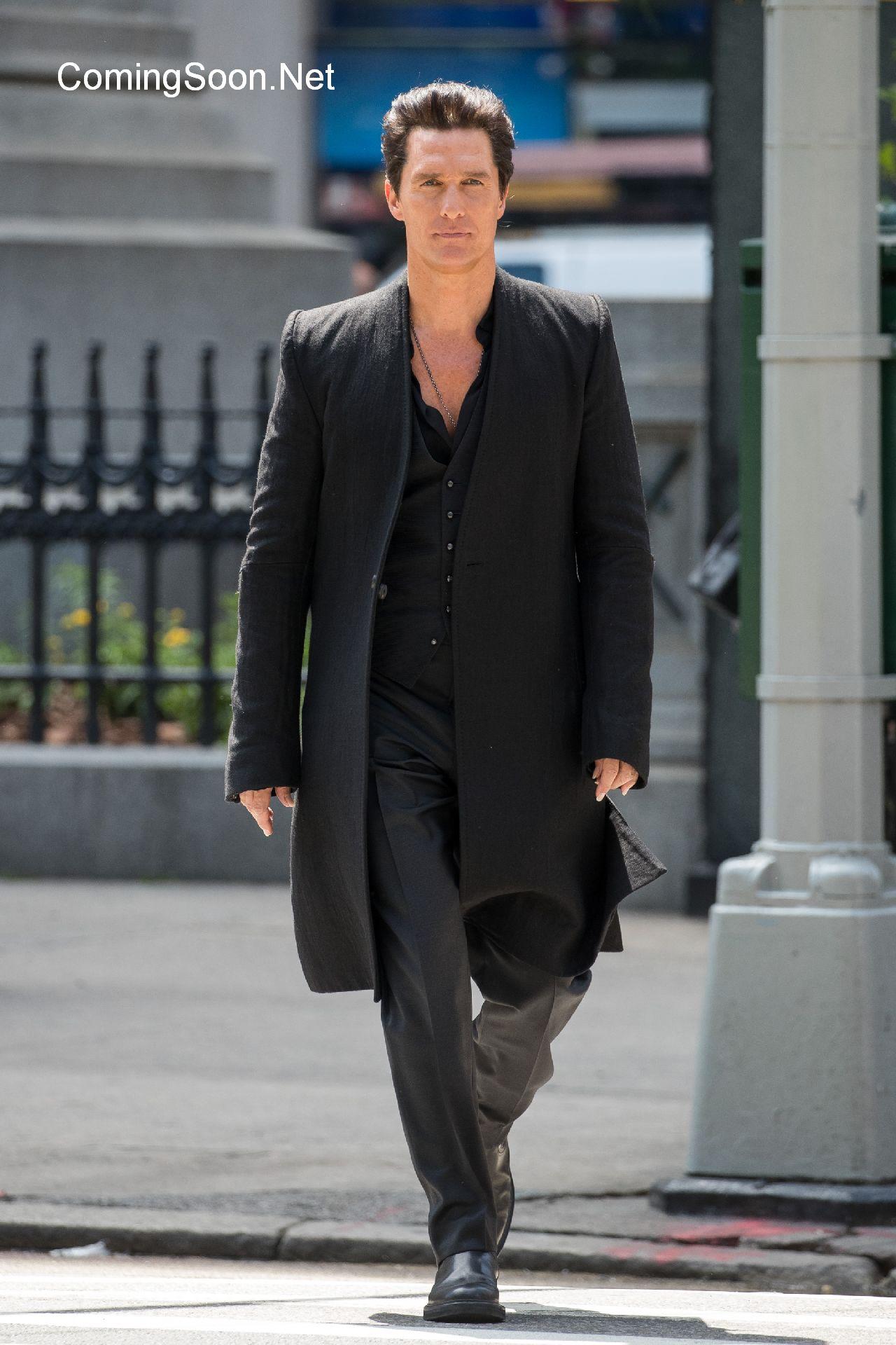 The Dark Tower: ecco Matthew McConaughey sul set