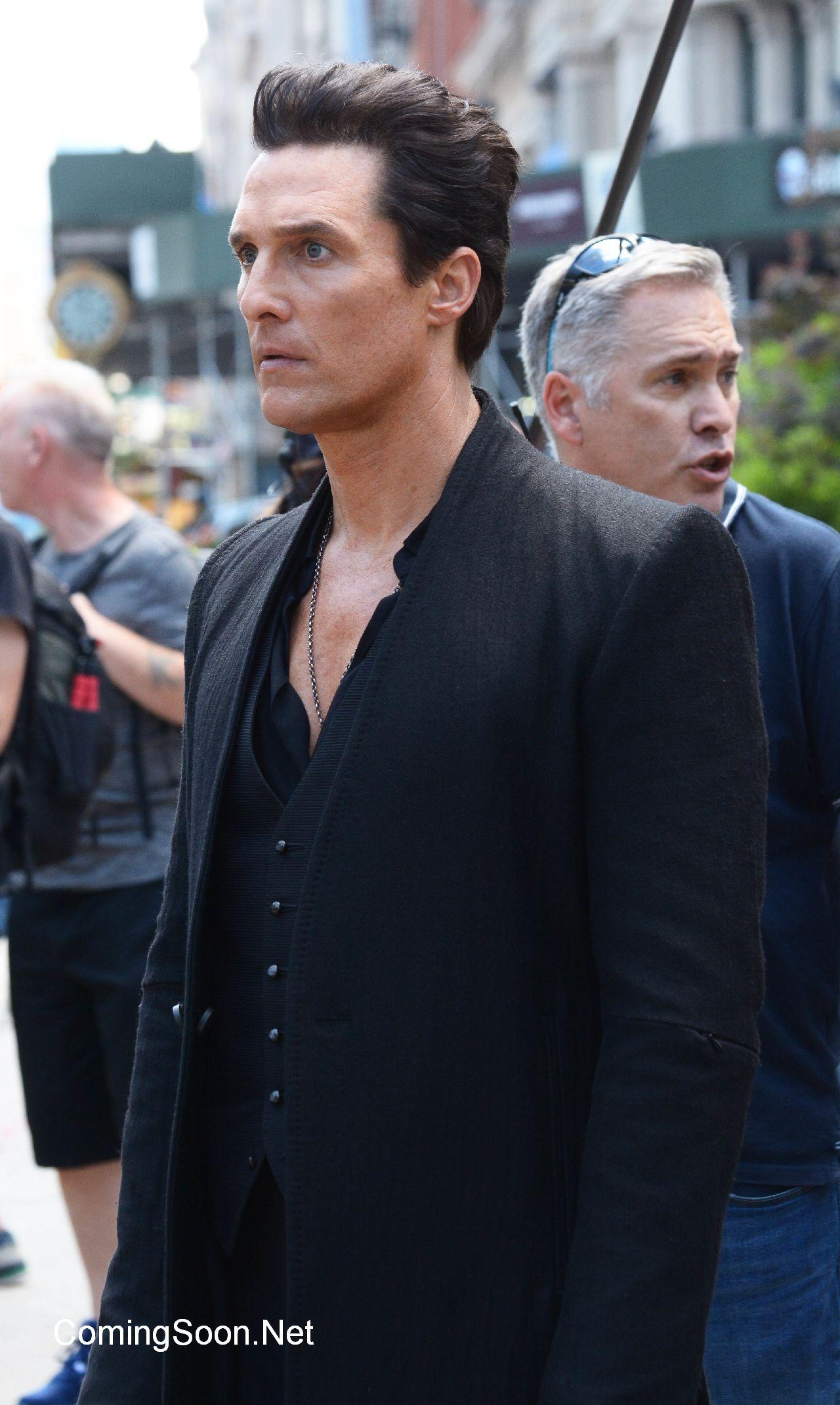 The Dark Tower: ecco Matthew McConaughey in azione nei panni di Randall Flagg