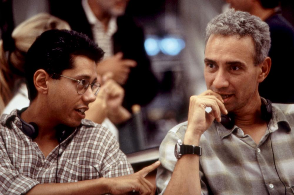 Independence Day: Roland Emmerich e Dean Devlin sul set del film