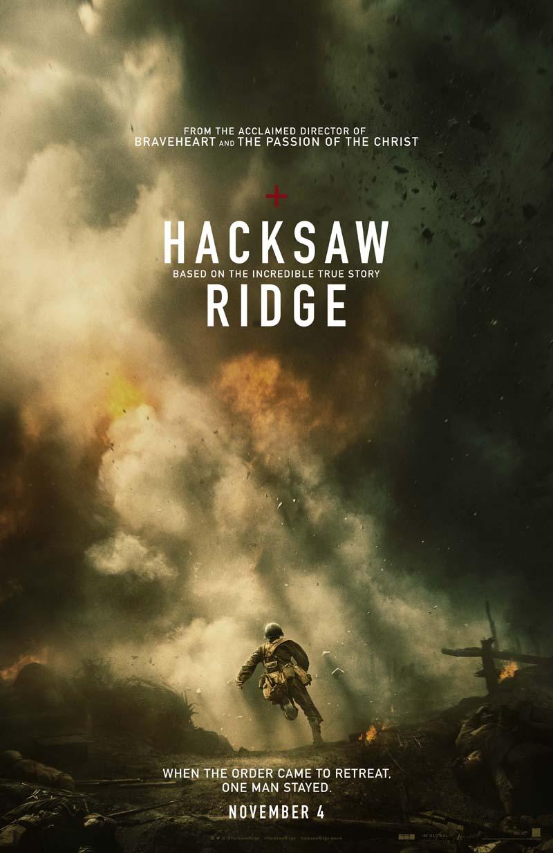 Hacksaw Ridge: una locandina del film