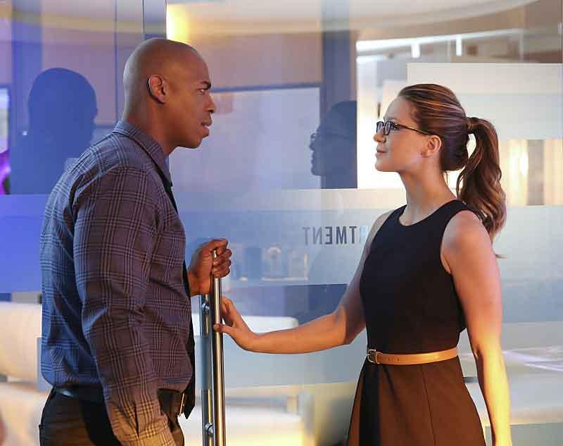 Supergirl: una foto di Mehcad Brooks e Melissa Benoist in L'Ultimo Sacrificio