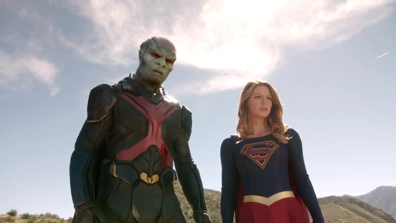 Supergirl: Melissa Benoist in una foto dell'episodio L'Ultimo Sacrificio