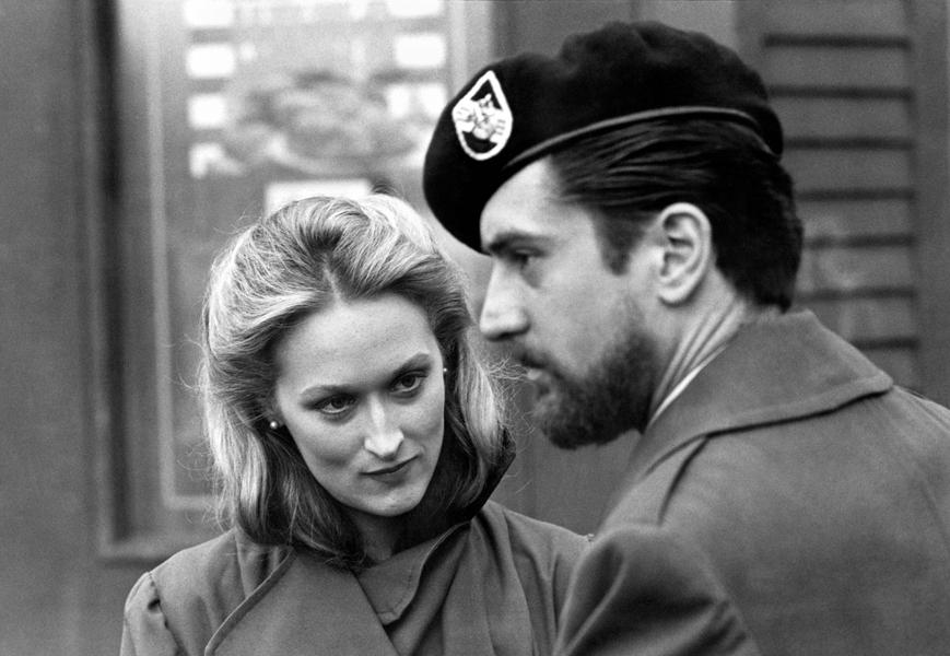 Meryl Streep e Robert De Niro ne Il cacciatore di Michael Cimino