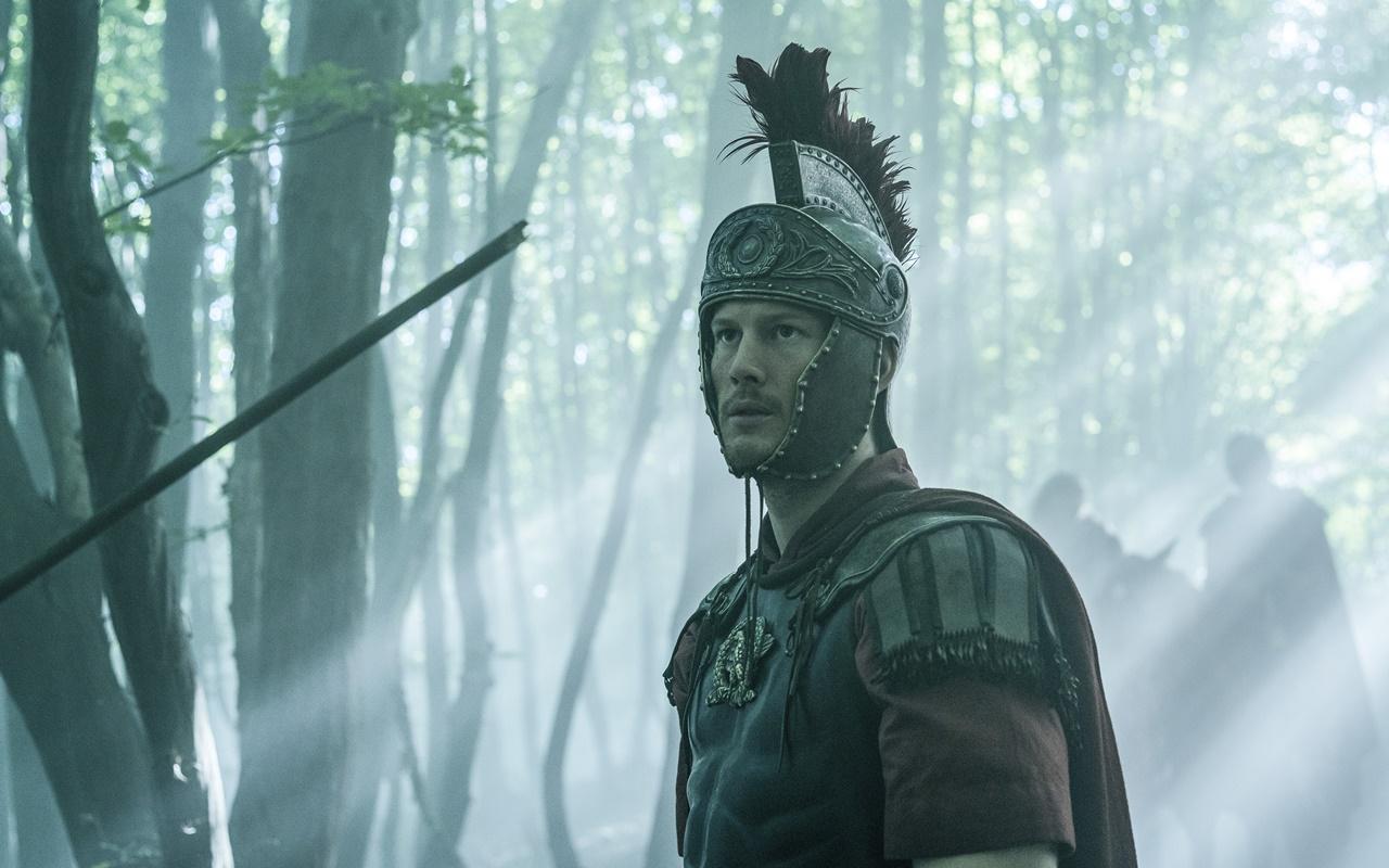 Barbarians: la foto di uno dei guerrieri