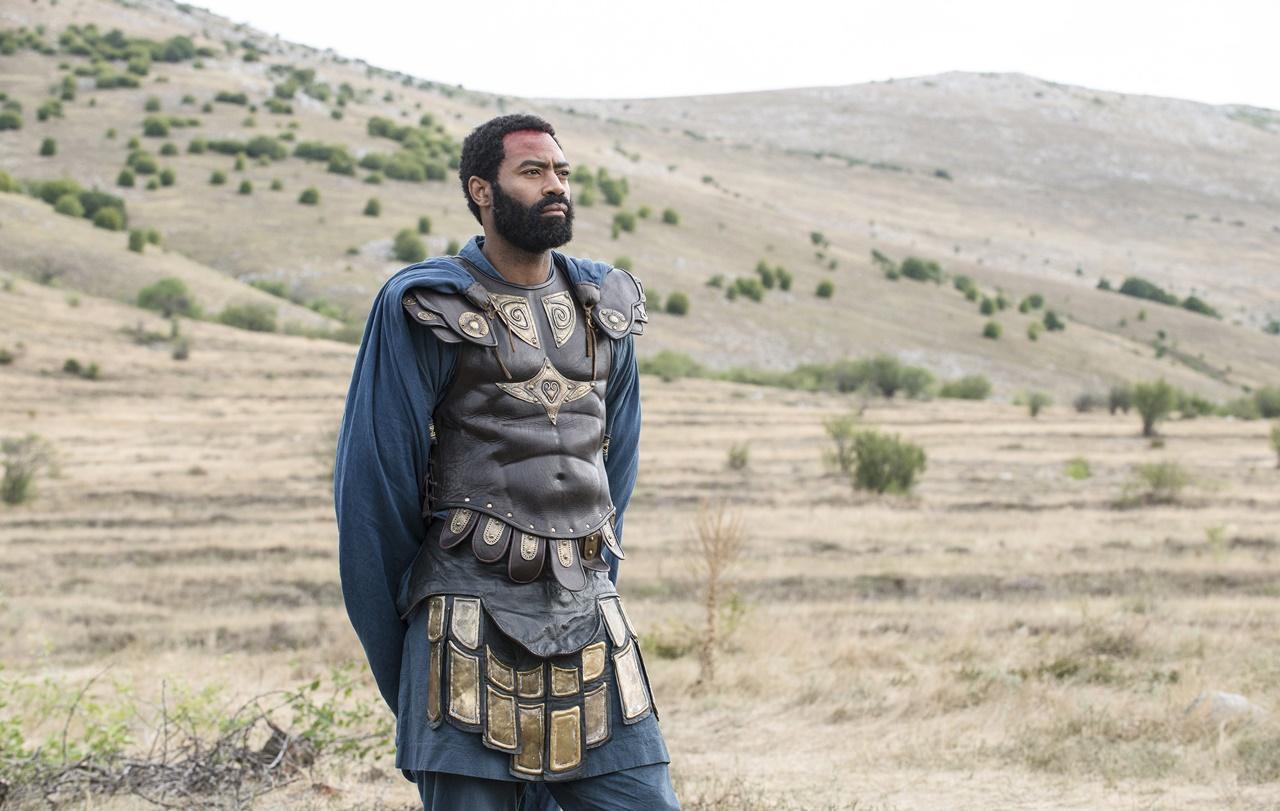 Barbarians: un'immagine dell'attore Nicholas Pinnock