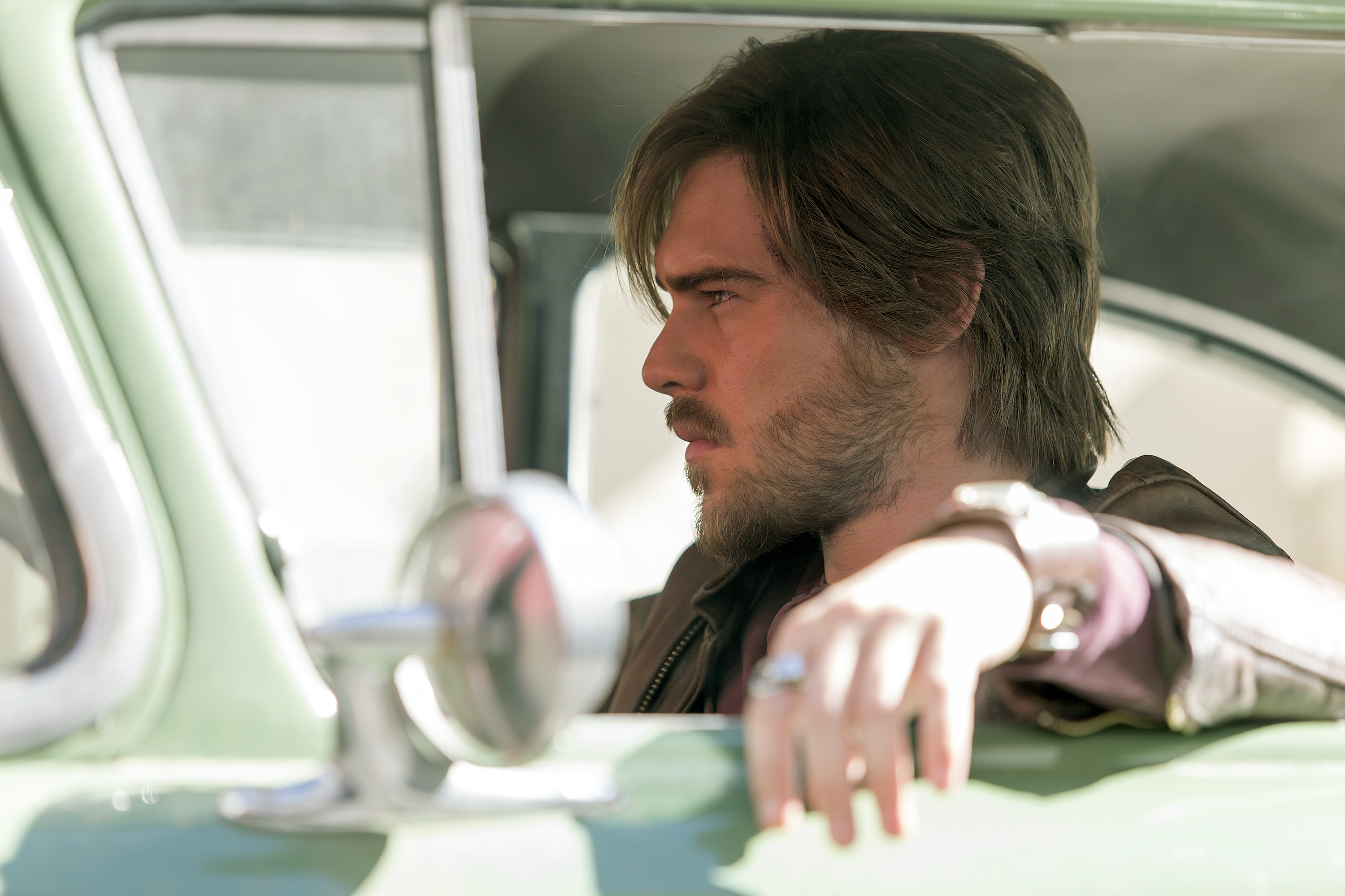 Aquarius: l'attore Grey Damon interpreta Brian Shafe