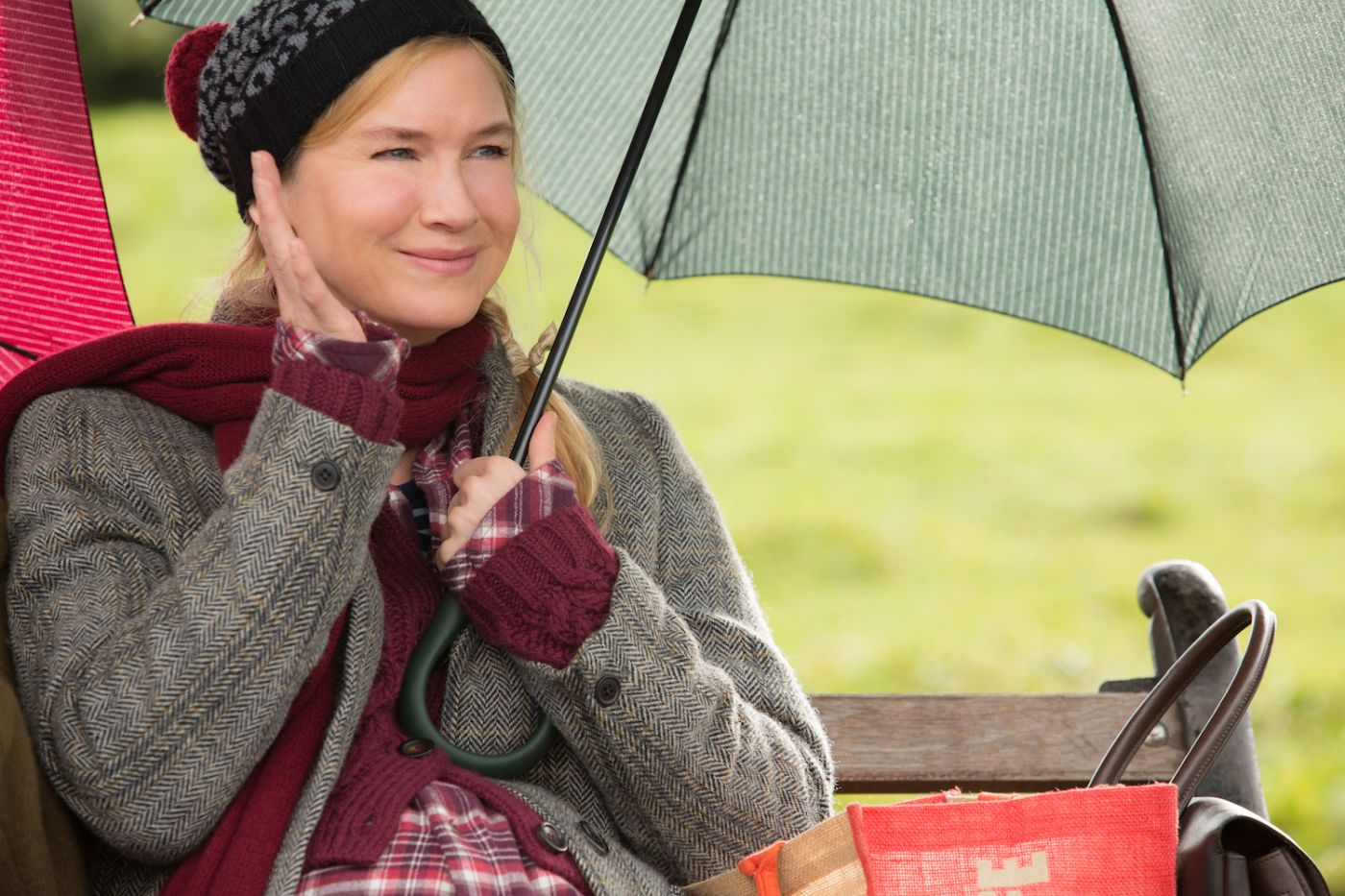 Bridget Jones's Baby: Renée Zellweger in un momento del film
