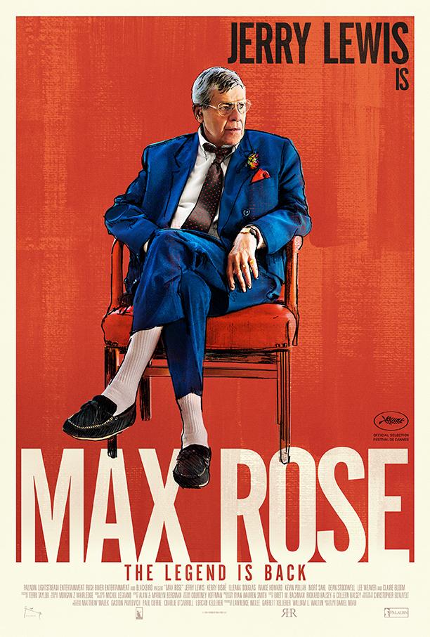 Max Rose: la nuova locandina