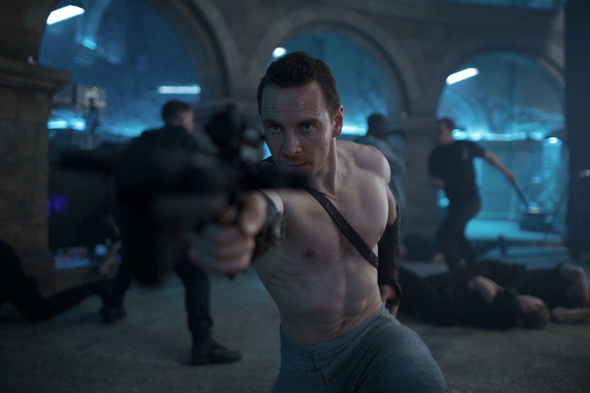 Assassin's Creed: l'attore Michael Fassbender in una foto del film