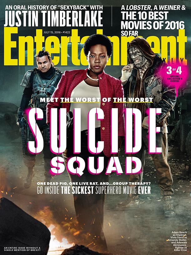Suicide Squad: una delle copertine da collezione di Entertainment Weekly