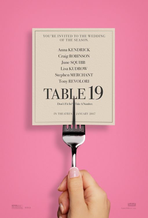 Locandina di Table 19