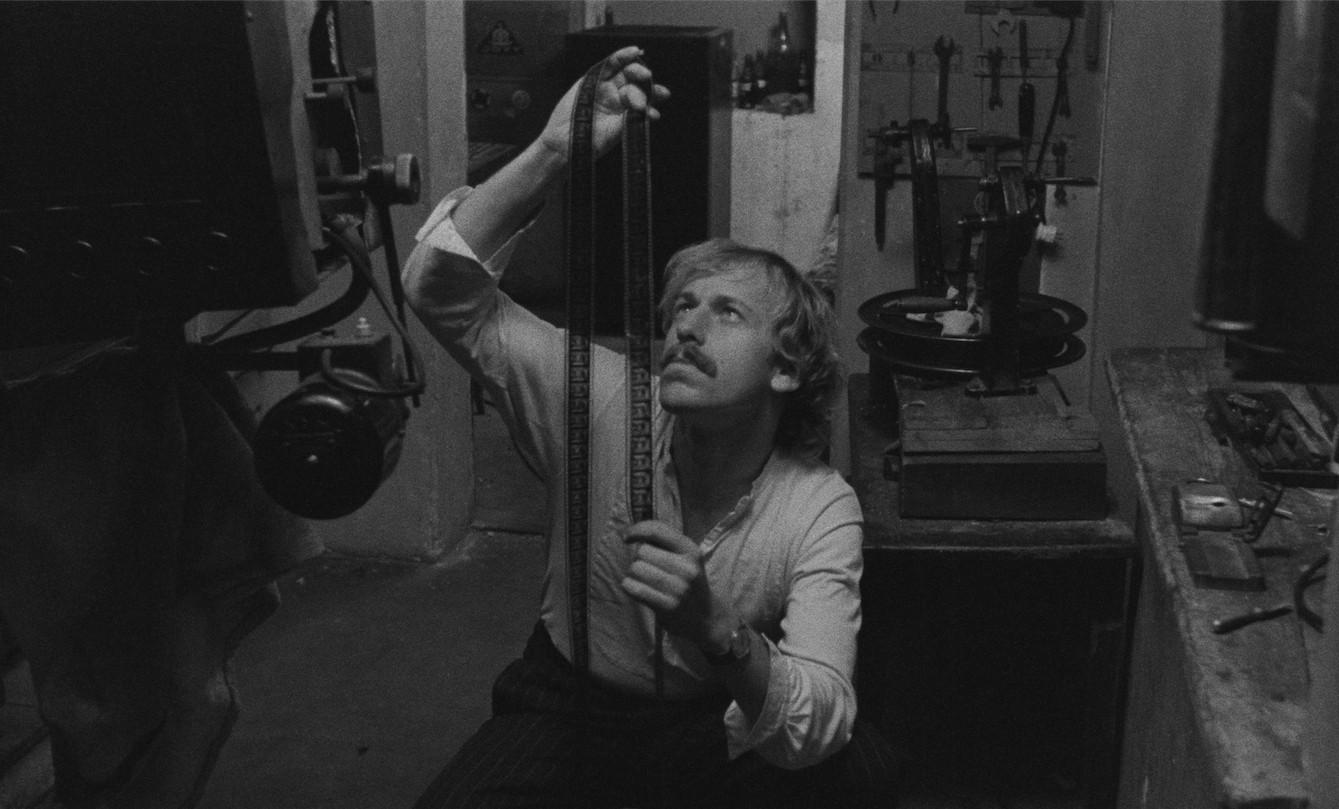 Nel corso del tempo: Rüdiger Vogler in un momento del film