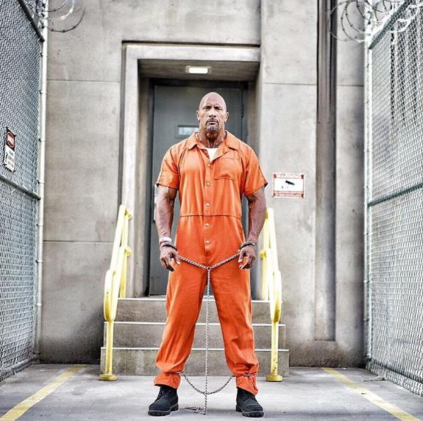 Fast 8: Dwayne Johnson in una nuova foto dal set