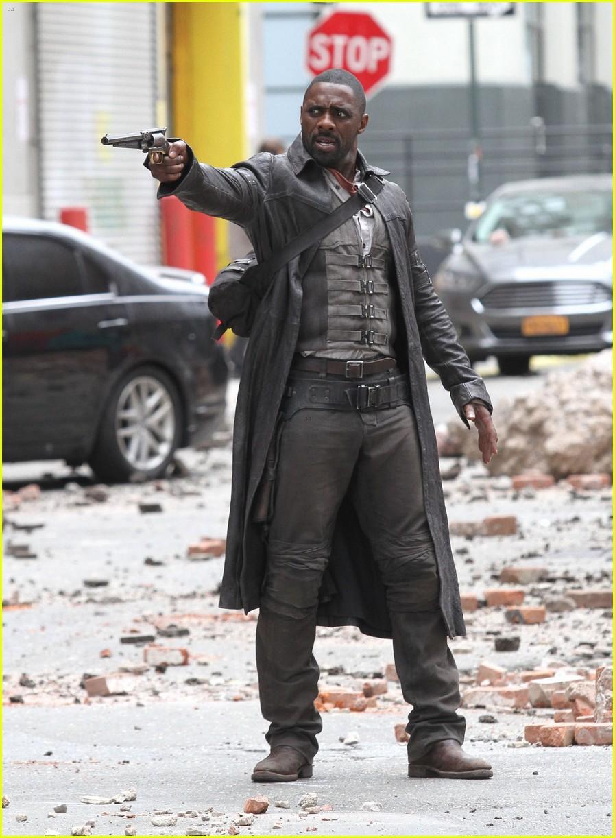 The Dark Tower: Idris Elba durante le riprese