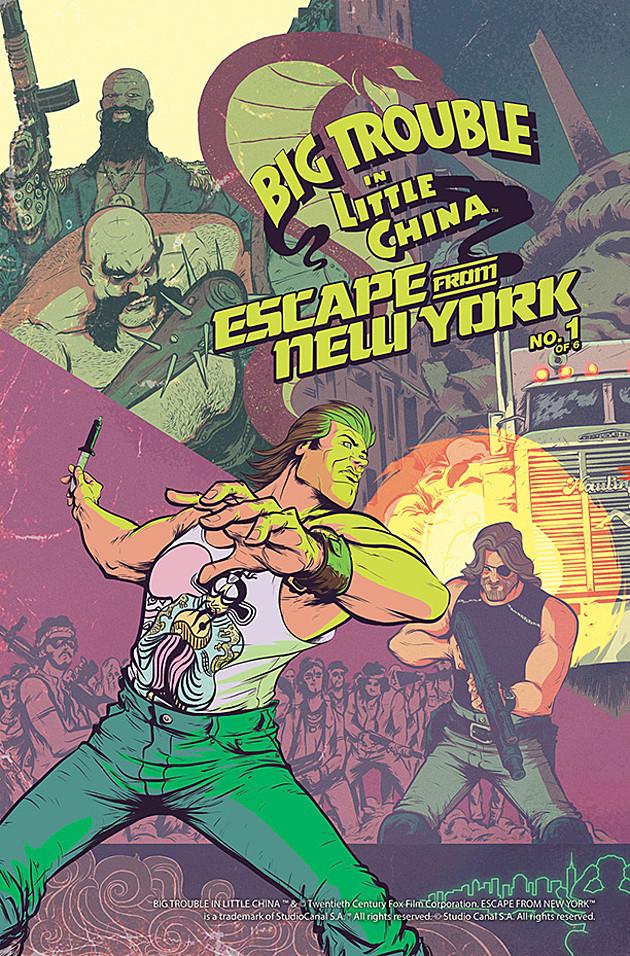 1997: Fuga da New York, Grosso guaio a Chinatown: il crossover a fumetti