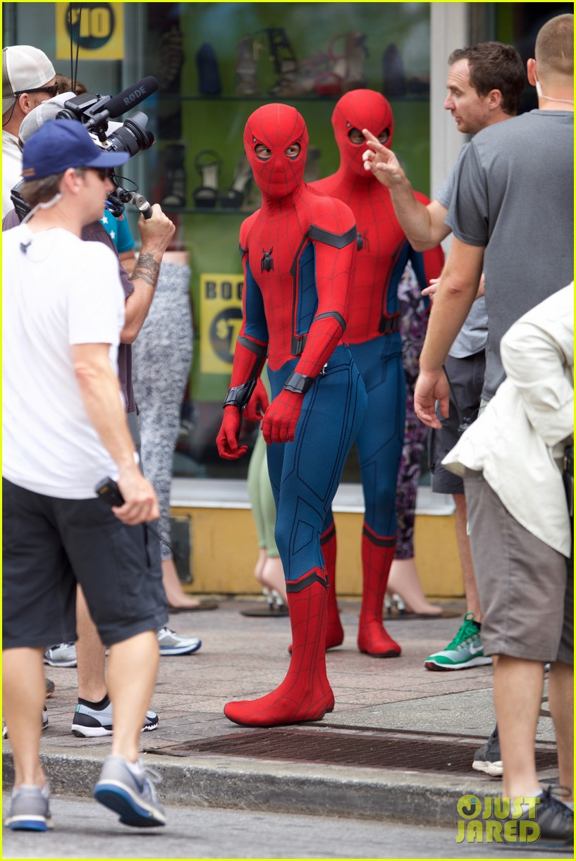 Spider-Man: Homecoming: un'immagine dal set