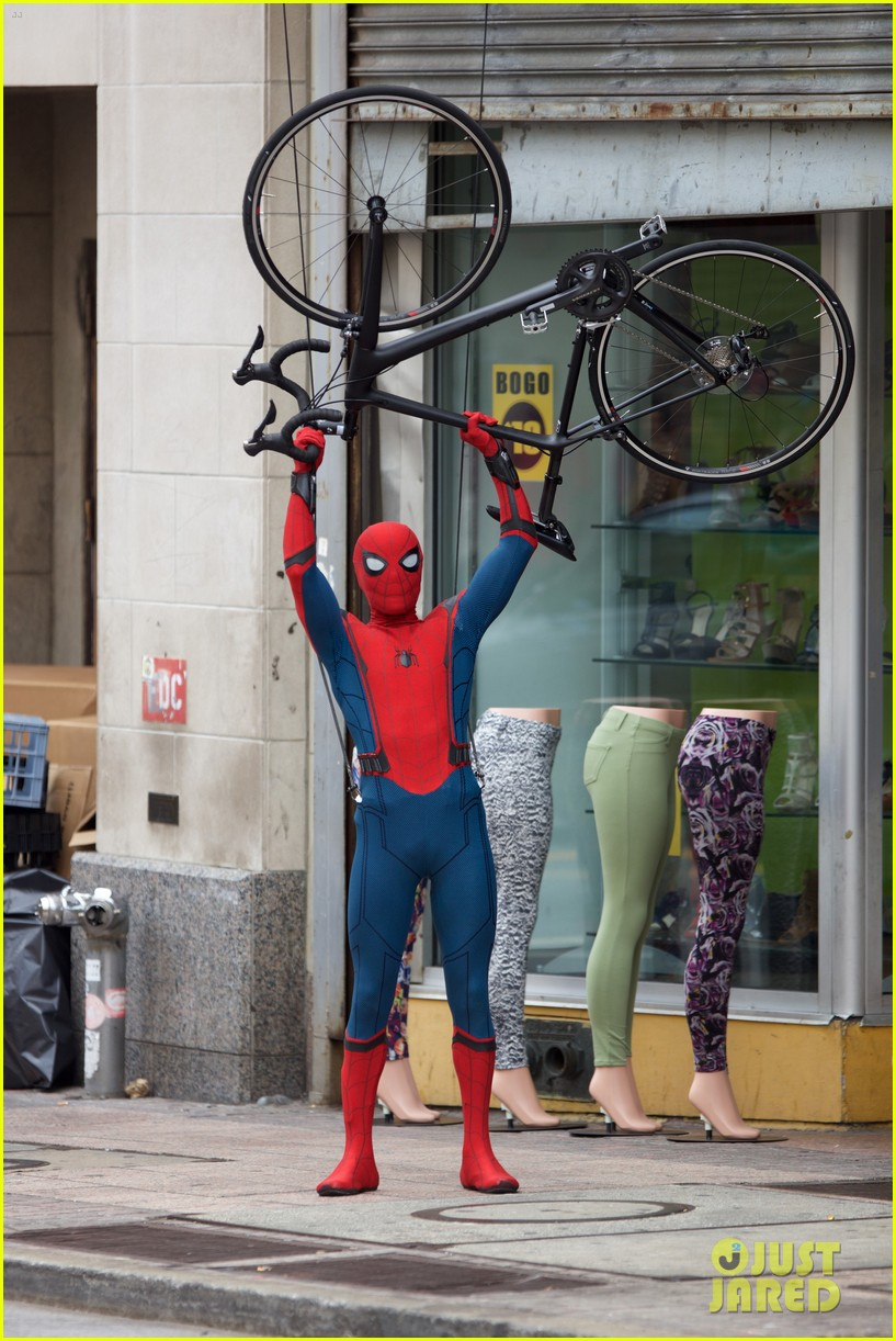 Spider-Man: Homecoming: una foto dal set